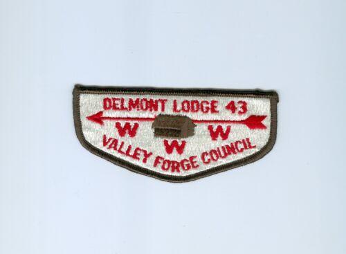 OA  Lodge 43 Delmont flap