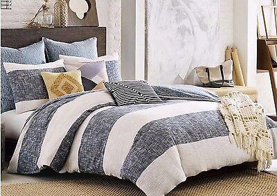 Nip Kas Room South Hampton Twin Duvet Cover Blue/white 2-EURO SHAMS College Dorm