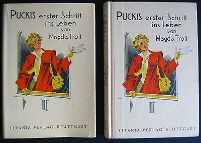 Magda Trott   Puckis erster Schritt ins Leben  Titania-Verlag
