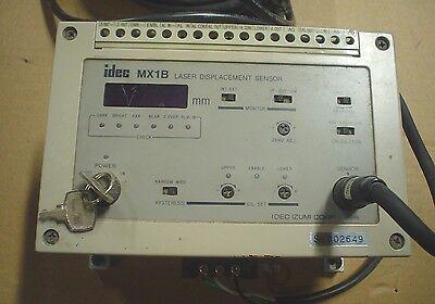 Idec Laser Displacement Sensor Mx1b-b12r6l - 1 Year Warranty