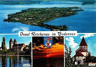 Insel Reichenau im Bodensee , Ansichtskarte