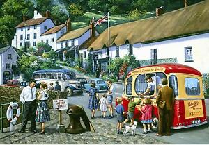 Lynmouth-Harbour-Seaside-Holiday-Ice-Cream-Van-Small-Metal-Tin-Sign-Picture