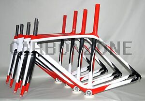 Full-Carbon-frameset-ISP-road-bicycle-Frame-Fork-50-52-54-56-58-60cm-headset