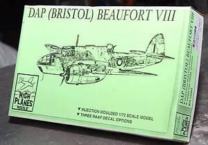 DAP (Bristol) Beaufort VIII 1/72 model Beachmere Caboolture Area Preview