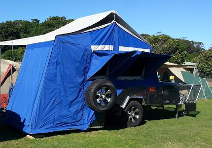 MDC Voyager RF hard floor off road camper trailer Como Sutherland Area Preview