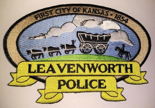 Leavenworth Kansas Police Patch // FREE US SHIPPING!