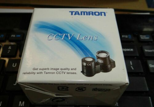 "New Tamron 13VG308AS-SQ 3-8mm 1/3"" F/1.0 Aspherical DC Auto-Iris CCTV Lens"