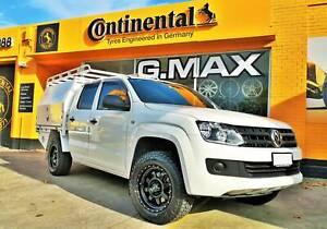 (Amarok) 17x8.5 G.MAX Aktiv Wheels and Falken AT3W Tyres