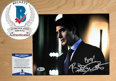 "BRANDON ROUTH SIGNED 8x10"" PHOTO LEGION SUPERMAN BAS BECKETT COA AUTH#D20725"