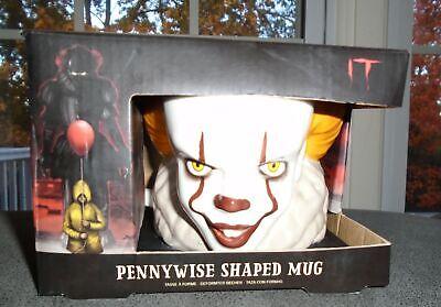 IT Pennywise Mug Evil Clown Coffee Mug Oversized Novelty Mug Hard to Find New