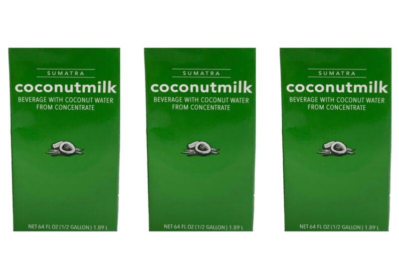 Starbucks Sumatra Coconut Milk 64 Fl Oz Each 3-Pack BBD 1/27/21