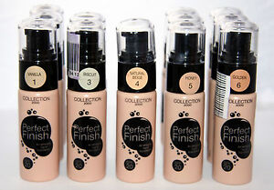 12 x COLLECTION 2000 PERFECT FINISH AIR WHIPPED FOUNDATION | RRP £60 | WHOLESALE