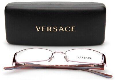VERSACE MOD. 1084 1056 LIGHT PINK EYEGLASSES 50-17-135mm (READ, DISPLAY (Light Pink Glasses)