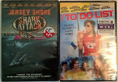 Shark Movies List (Jersey Shore: Shark Attack - The To Do List (DVD) BRAND)