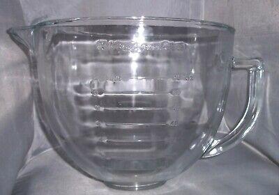 KitchenAid Glass Mixing Bowl Large 12 Cup 96oz Spout Pour Tilt Head Kitchen Aid