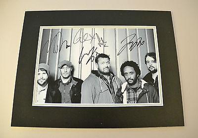 Elbow Signed 16x12 Photo Autograph Display Genuine Guy Garvey Memorabilia + COA