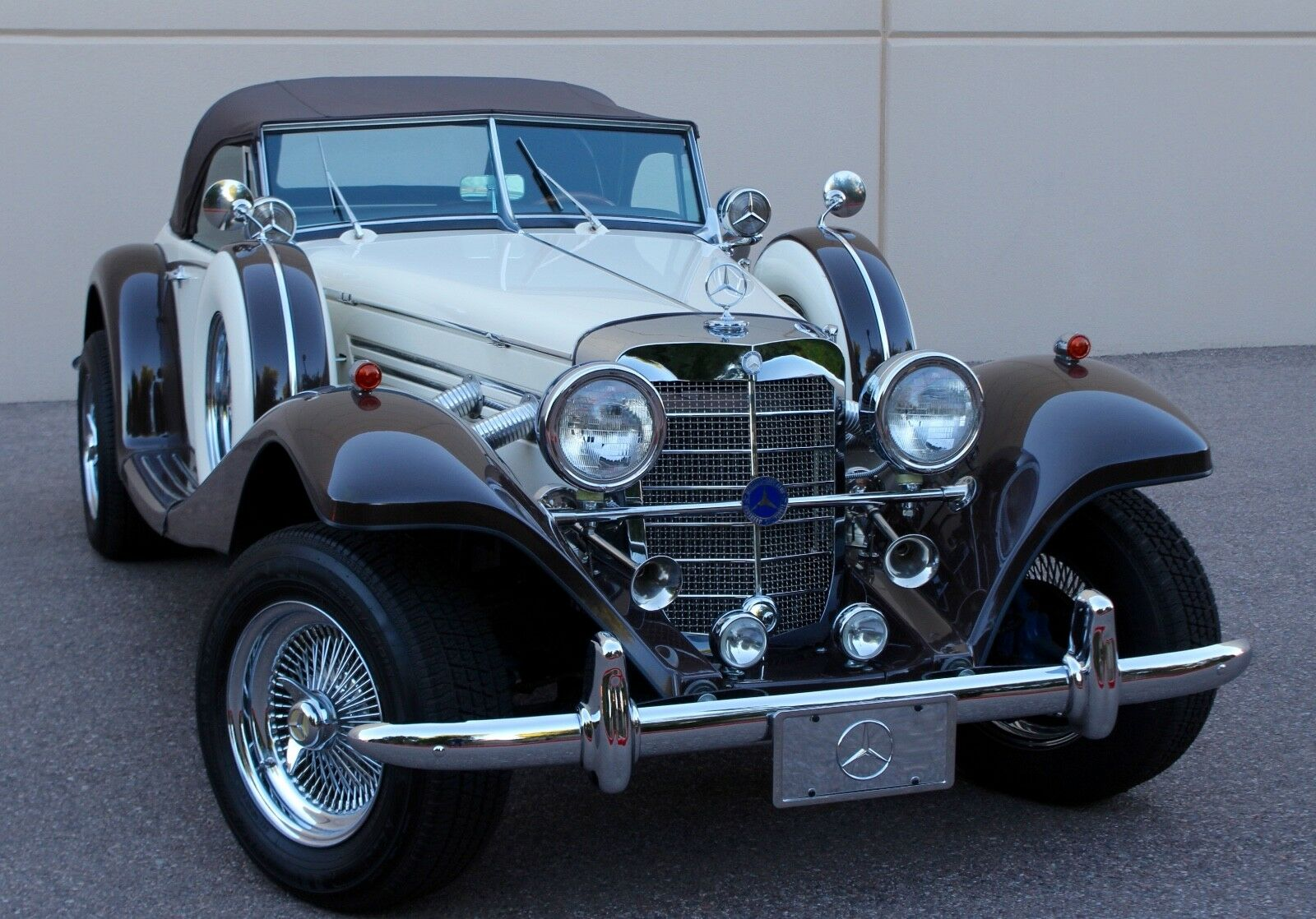 Mercedes Benz Replica 500k 540k Roadster Hot Rod Street ...