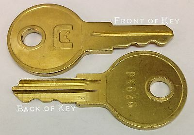 Acroprint Time Clock Key Pk626 45-0150-003 Set Of 2 Keys For All 125 150 200