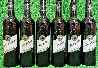 (5€/l) 6x Rotwild Dornfelder halbtrocken 0,75l Rotwein Deutschland Vorratsakton
