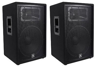"(2) JBL Pro JRX215 15"" 2000w Professional Passive PA/DJ Speakers 8 Ohm JRX 215 segunda mano  Embacar hacia Mexico"