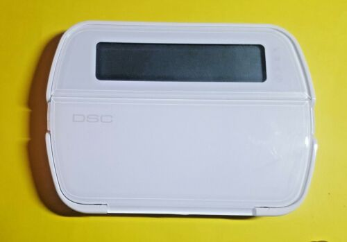 DSC POWER SERIES 64-ZONE PK5501ENG SECURITY ALARM HARWIRED KEYPAD PRE-OWNED