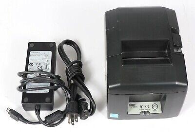 Star Micronics Tsp650ii Network Usb Pos Thermal Receipt Printer W Power Adapter
