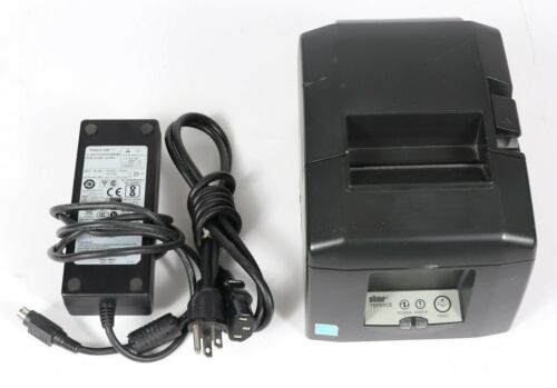 Star Micronics TSP650II Network USB POS Thermal Receipt Printer w/ Power Adapter