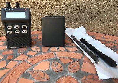 Nib Ge Ericsson Edacs Mrk M-rk-ii Scan Portable Radio 150-174 Mhz Pk6hgc Vhf