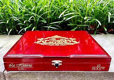 La Historia Empty Cigar Box, No Cigars