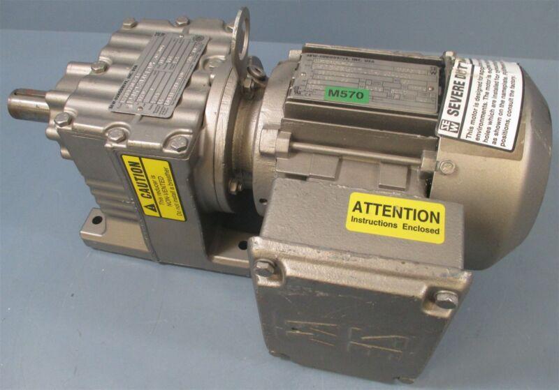 Sew-Eurodrive R27DT71C4-KS Gear Reducer 9.41:1 + Drive Motor 0.33 HP