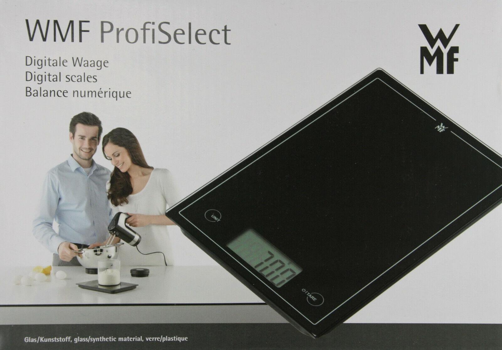 WMF ProfiSelect Digitale Küchenwaage schwarz 0608726030