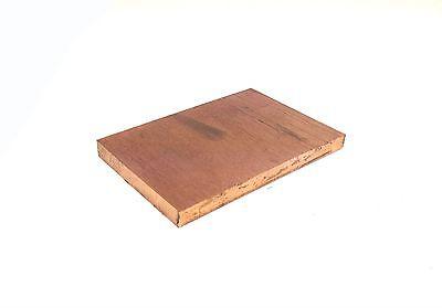 C14500 Alloy 145 Tellurium Copper Blank Plate Block .250 14 X 2 X 4