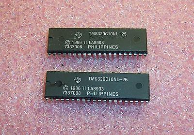 Qty 4 Tms320c10nl-25 Ti 40 Pin Dip Digital Signal Processor Refurbished