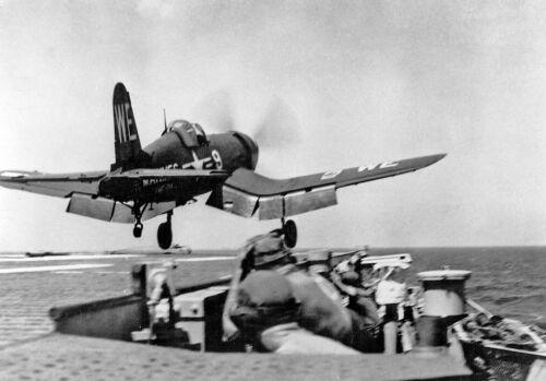 "US Navy Grumman F4U Corsair ((8.5""X11"")) Print"