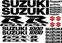 25 X Black / Red 1000 Gsxr Gsx-r Decal Sticker Graphic Motorcycle Motorbike Set -  - ebay.co.uk