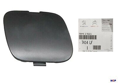 PEUGEOT 107 FRONT BUMPER TOWING EYE COVER CAP 7414LF *GENUINE*