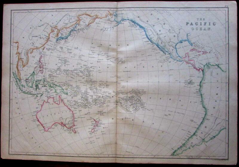 Australia Pacific Ocean Asia 1860