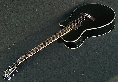 IBANEZ AEG10II-BK Acoustic-Electric Guitar EQ w/ Tuner Fishman pickup JET BLACK