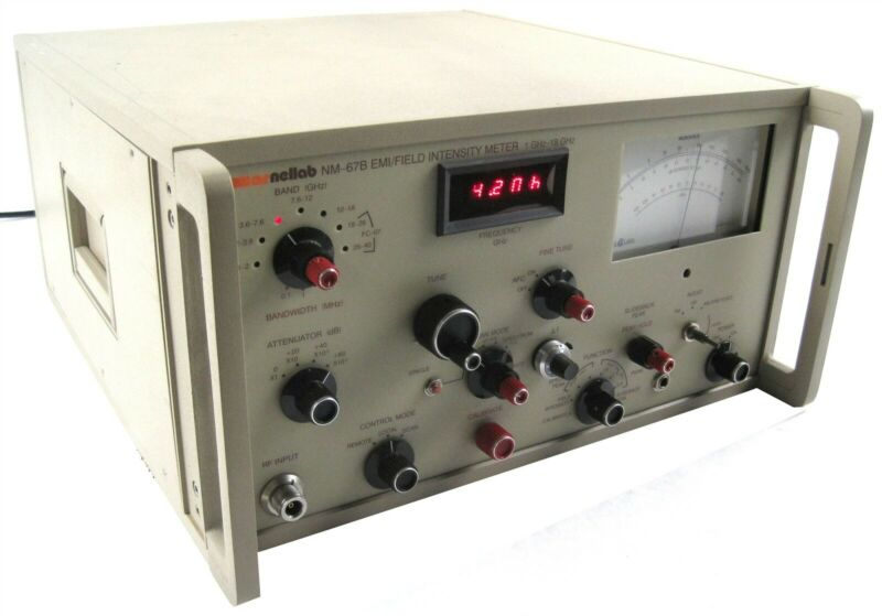 Carnel Labs NM-67B EMI Field Intensity Meter 1GHz-18GHz Laboratory Testing