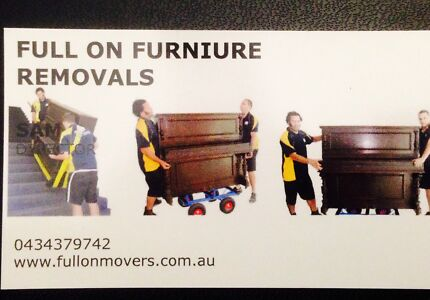 FULL ON FURNITURE REMOVALS MELBOURNE.QUALITY SERVICE & BEST PRIC Melbourne CBD Melbourne City Preview
