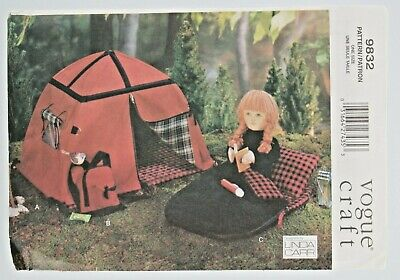 New Vogue Craft Sewing Pattern 9832 Camping Accessories 18