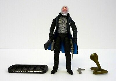 GI JOE COBRA COMMANDER Rise of Cobra Action Figure NEAR COMPLETE C9+ v43 (Gi Joe Rise Of Cobra Cobra Commander)