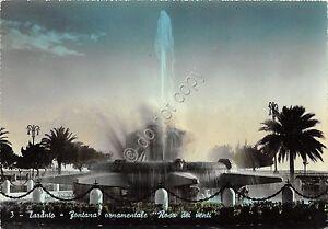 Cartolina-Postcard-Taranto-Fontana-Rosa-dei-venti-1955-VG