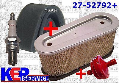 Vorfilter Luftfilter Zündkerze Benzinfilter Tecumseh OHV 110 115 120 125 130 135