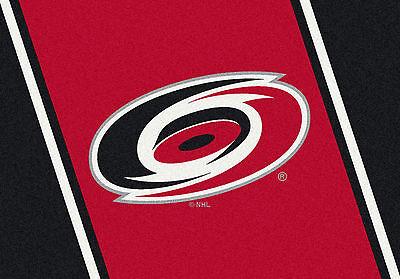 Carolina Hurricanes Milliken NHL Team Spirit Indoor Area Rug  - Hurricanes Spirit Rug