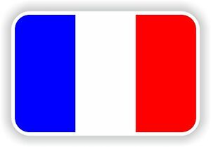 French flag sticker decals drapeau stickers flags france for Autocollant mural francais
