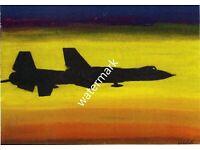 """Yf-12 Cutaway Poster Mini 11/""""X17/"""""""