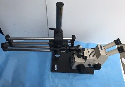 Olympus Szh10 Research Stereo Microscope With Sliding Stand