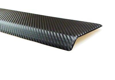 Für Mercedes GLE W166 ab 2015- Ladekantenschutz Carbon Optik Original TFS
