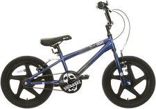 """X-Rated Shockwave Kids BMX Bike 16"""" Wheels Steel Frame V-Brakes Child Bicycle"""